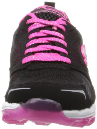 Skechers Skech AirBizzy Bounce - zapatilla deportiva de material sintético niña Black/Hot Pink