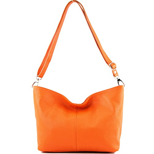 Orange Modamoda en cuir cuir étui T157 ital en Étui 1r1xA8