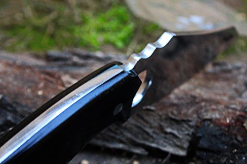 DKC-88-440c-BAT-440c-Stainless-Steel-Skinner-Hunting-Knife-9Long-45-Blade-8-oz-High-Class-Looks-Incredible-Feels-Great-In-Your-Hand-And-Pocket-Hand-Made-DKC-Knives