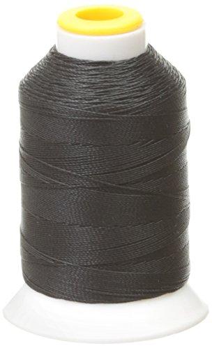 King Spool - Coats&Clark D71-0002 Outdoor Living Thread, Mini King Spool, 200-Yard, Black