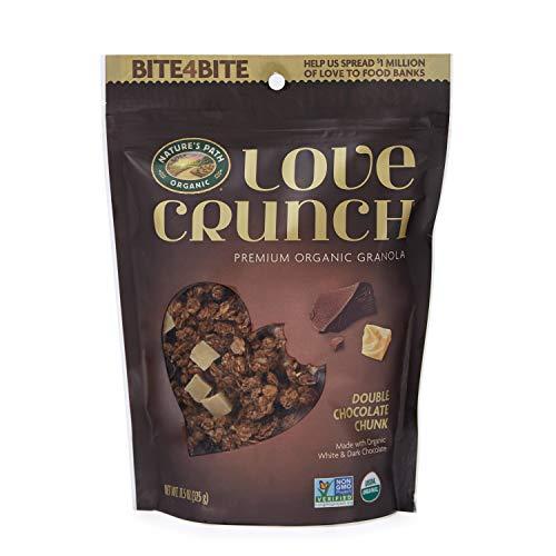 Nature's Path Organic Love Crunch Premium Granola, Double Chocolate Chunk, 6 - Double And Dark Chocolate Strawberry