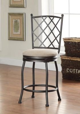 Kinfine Tristan Counter Stool tan by Kinfine
