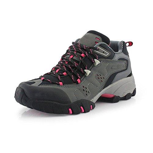 Primavera Y Otoño Sra CHT Exterior Resistente Al Agua Zapatos Para Caminar Grey