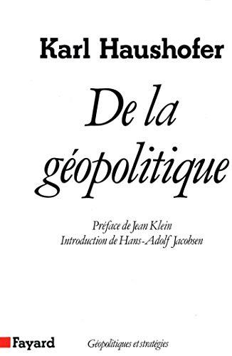 De la gopolitique (Essais) (French Edition)