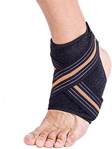 ジェルと足首ブレースは、通気性のサポート、圧縮と痛みを軽減、捻挫、株のための足首ブレースの圧縮サポートスリーブを提供します