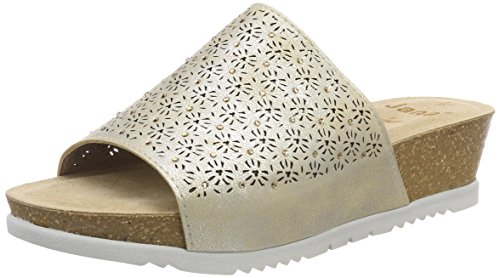 Or Bout 27202 Gold Sandales Femme Ouvert Jana Lt Pepper nwUq6xxFX