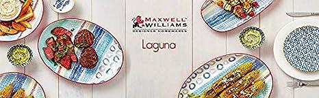 Maxwell Williams Laguna Bol de service 32.5 x 26.5 x 9.5 cm C/éramique