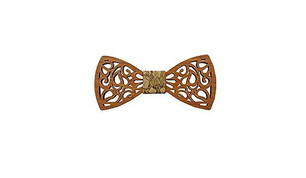 Pajarita de madera para hombre La corbata de lazo de los hombres ...