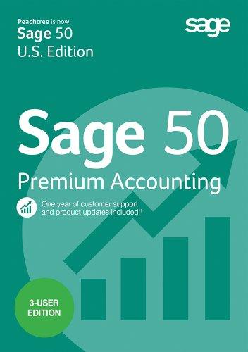 Sage 50 Premium Accounting 2015 3-user [Download]