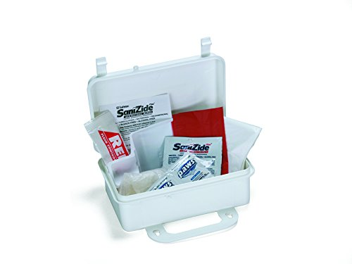 (Medique Products 89701 Body Fluid Clean Up Kit, Plastic Case, Filled)