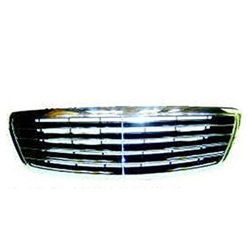 Koolzap For 03-06 S-Class Front Grill Grille Assembly Chrome/Black MB1200124 22088005839040