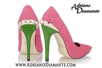 Amazon.com: Gear Shoes Pink Green Pumps 4