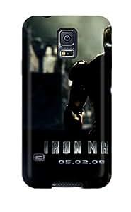 Alfredo Alcantara's Shop 9037102K72914175 Case Cover Protector Specially Made For Galaxy S5 Iron Man