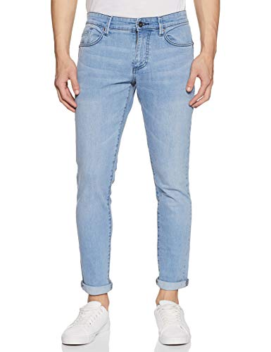 Amazon Brand – House & Shields Men's Stretch Relaxed Jeans