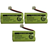 Replacement Battery BT184342 / BT284342 for many GE / RCA Cordless Telephones (see description) (3-Pack)