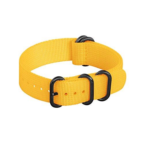 Clockwork-Synergy-20mm-Yellow-PVD-5-Ring-XL-Heavy-NATO-Watch-Strap