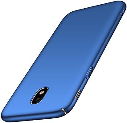 anccer Funda para Samsung Galaxy J3 2017/J330F/J3 Pro 2017 [Serie Colorida] [Ultra-Delgado] [Ligera] Anti-rasguños Estuche para Samsung J3 2017/J330F/J3 Pro 2017 (Azul Liso): Amazon.es: Electrónica