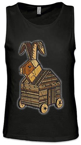 Trojan Rabbit Men Tank Top Vest Gym Shirt -