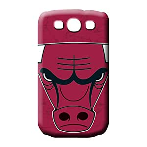 samsung galaxy s3 Shock-dirt Eco-friendly Packaging pattern mobile phone case chicago bulls nba basketball
