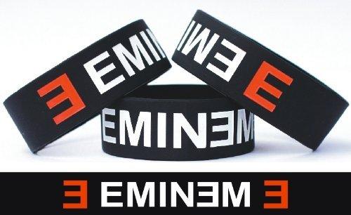 Eminem 1インチシリコンリストバンド手首バンド商品ブレスレット   B006RKHJMY