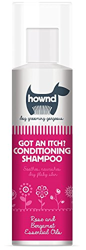 HOWND Got an Itch Conditioning Shampoo 8.5oz All -Natural Dog Shampoo with Rose and Bergamot Essential Oils