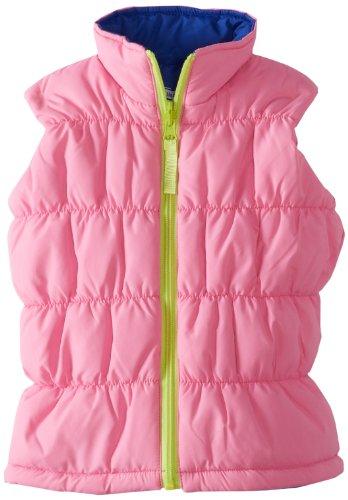 Hartstrings Girls 2-6X Toddler Reversible Puffer Vest