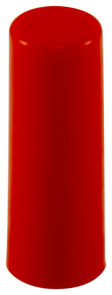 Caplugs 99394756 Plastic Sleeve Cap for Tube Ends. SC-3/16-16, PE-LD, Cap ID .188'' Length 1.00'', Red (Pack of 200)