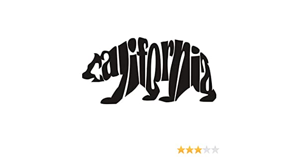 9ffd3c43bc35b5 Amazon.com  CALIFORNIA BEAR VINYL STICKER  Automotive
