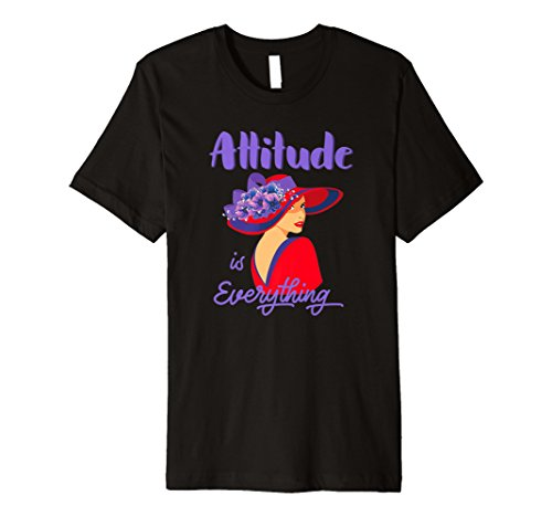 Hat Ladies Red T-shirt (Red Hat Attitude is Everything Vintage T Shirt)