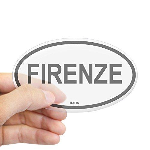 (CafePress Firenze Oval Sticker Oval Bumper Sticker, Euro Oval Car Decal)