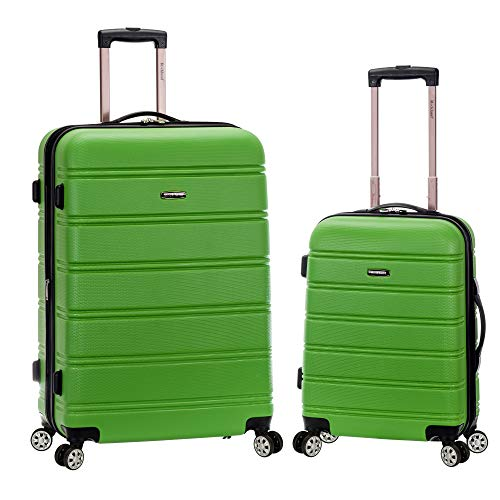 "Rockland 20"", 28"" 2pc Expandable Abs Spinner Set, Green"