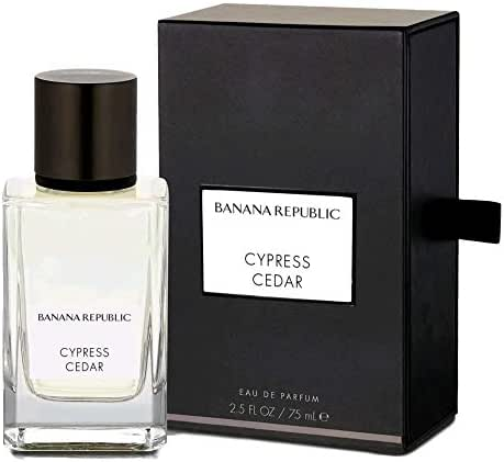 Cypress Cedar by Banana Republic Eau De Parfum 2.5 oz 75 ml Icon Collection
