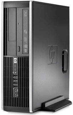 HP Elite 8100 SFF Business Desktop Computer, Intel Quad Core i7-860 2.8GHz Processor, 8GB DDR3 RAM, 500GB HDD, DVD, RJ45, VGA, Display Port, Windows 10 Professional (Certified Refurbished)