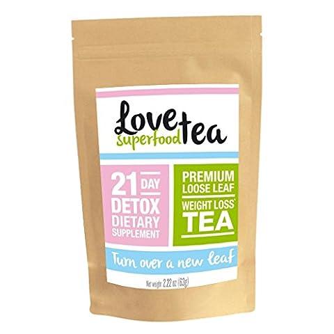 Love Superfood Tea 21 Day Detox