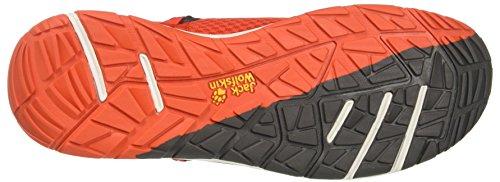 Jack Wolfskin Herren Seven Wonders Packer Low M Slip On Sneaker Orange (Lava Orange)