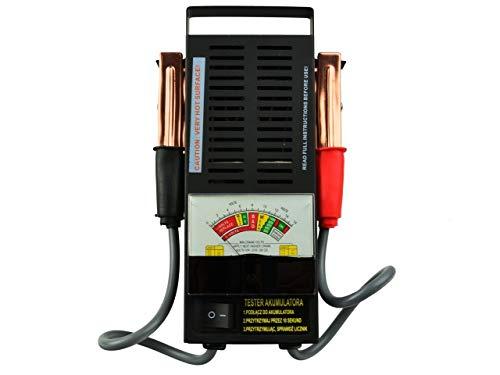 Geko G80028 Battery Tester 6 12 V 100 A Black Business Industry Science