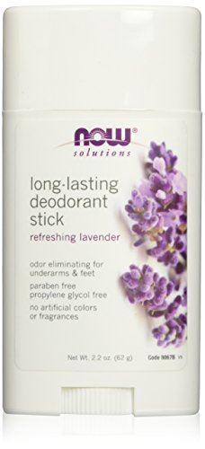 [Now Foods Long Lasting Deodorant Stick - 2.2 oz 3 Pack] (Zinc Oxide Deodorant)