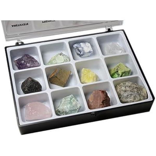 Minerales Crudos Cojea a 12 tipos de Piedras brutos de lithothérapie y de colección: Amazon.es: Hogar