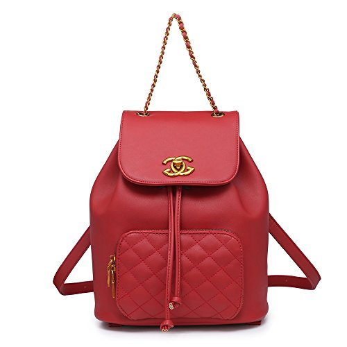 M Womens Bag New Red Backpack London Craze qvOTzT