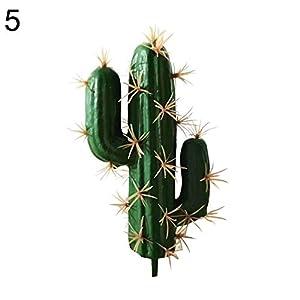 XKSIKjian's Artificial Plants, 1Pc Foam Artificial Cactus Succulent Bonsai Office Desk Decor Flowers, Fakeflowers Bouquet Wedding Party Home Decoration - 5# 38