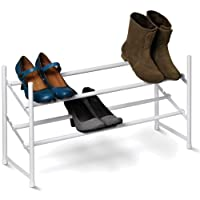 Honey-Can-Do 2-Tier Expandable Shoe Rack