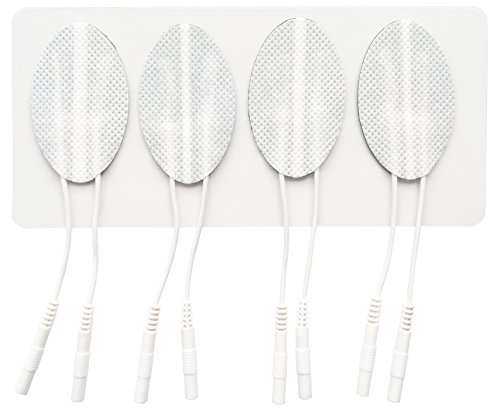 4 Reusable Pairs of face Electrode Pads (Firming, Lifting and reducing Wrinkles)