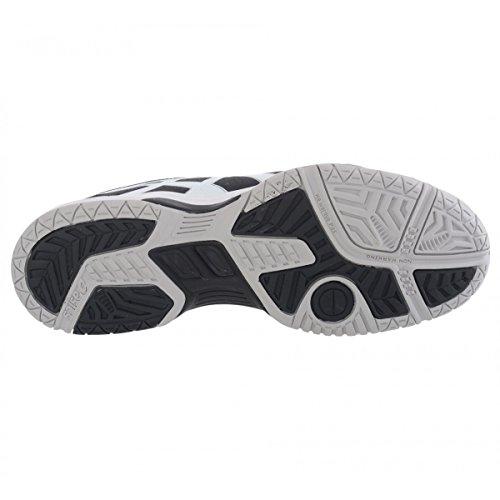 4 Hombre black Zapatillas Dedicate Asics white Gel silver de Tenis fnxvqETwO