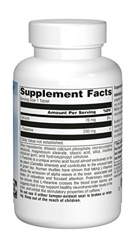 Source Naturals Serene Science L-Theanine 200mg Anti-Anxiety Supplement - 60 Capsules by Source Naturals (Image #2)