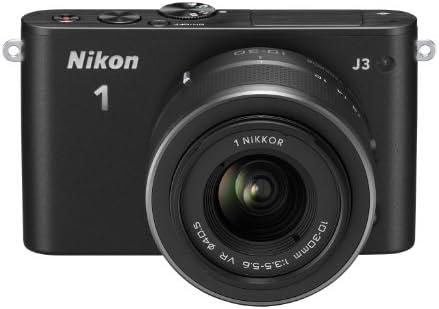 Nikon 1 J3 Systemkamera 3 Zoll Double Zoom Kit Inkl 1 Kamera