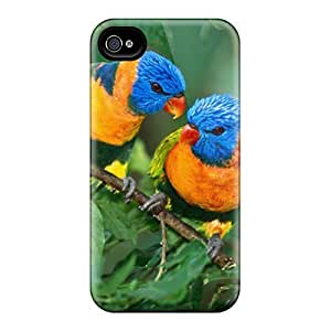 6Plus Scratch-free Phone Case For Iphone 4/4s- Retail Packaging - Two Birds