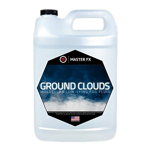 Ground Clouds - Fast Dissipating - Indoor Low- Lying Molecular Fog Fluid - 1 Gallon by Master FX, Inc.