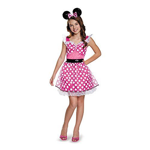 Pink Minnie Teen/Tween Costume, X-Large (14-16) (Teen Minnie Mouse Costume)