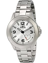 Invicta Womens 17932 Angel Stainless Steel Watch with White Crystal Heart on Dial