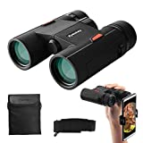 Eyeskey Wayfarer 8x32 Compact Binoculars for Adults and Teenagers, Specially Designed for Travel
